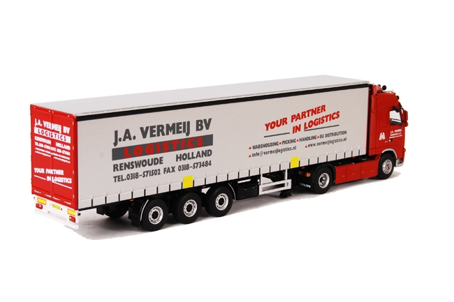 J.A. Vermeij Logistics verloot WSI minuatuur 1:50